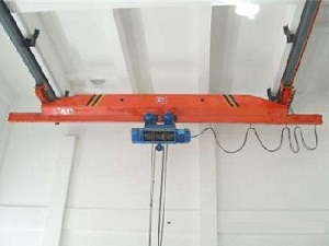 LX model single girder suspension bridge crane