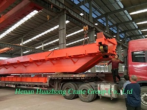 Delivery of double beam bridge crane